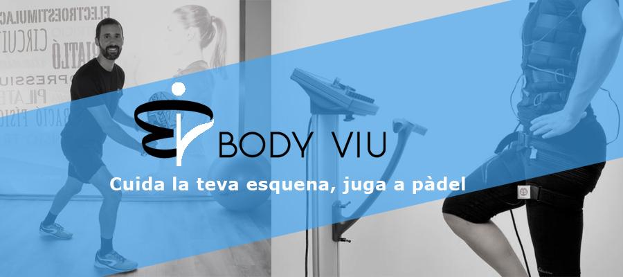 Està preparada la teva esquena per gaudir del pàdel? L'Electroestimulació com a mètode preventiu