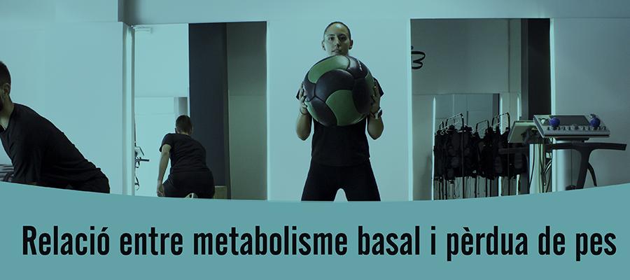 Relació entre l'augment del metabolisme basal i la pèrdua de pes.