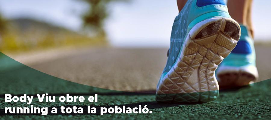 A Body Viu obrim el running club a tothom per fomentar l'activitat física entre la població